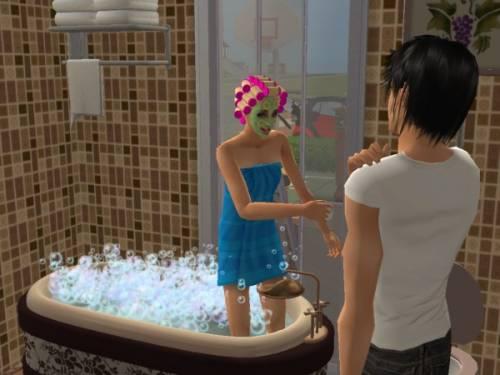 девушка залезла к парню в ванную